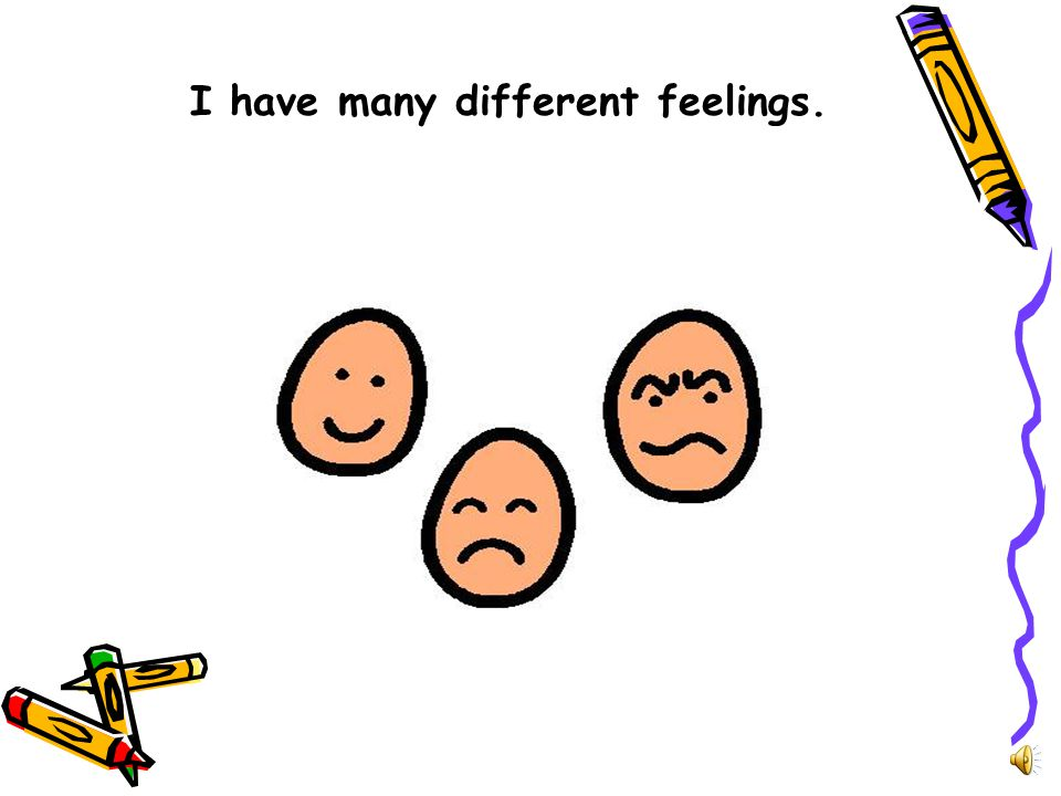 I have many different feelings.