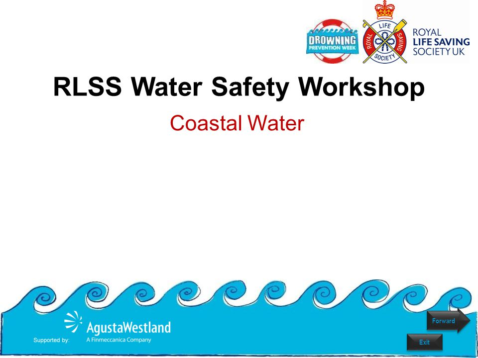What is Coastal Water.Anywhere near the Sea such as beaches, cliffs, harbours and docks.