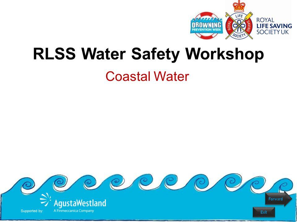 RLSS Water Safety Workshop Coastal Water Forward Exit