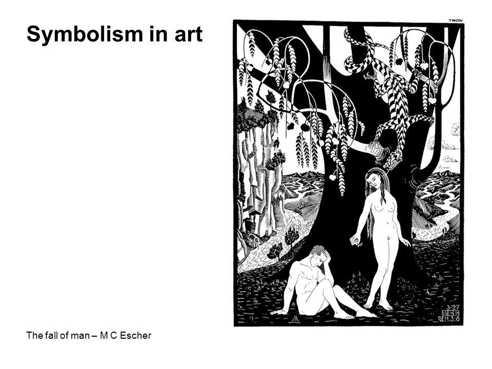 Symbolism in art The fall of man – M C Escher