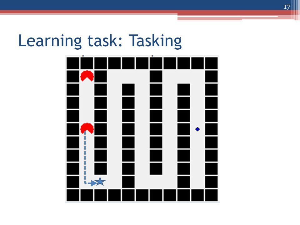 Learning task: Tasking 17