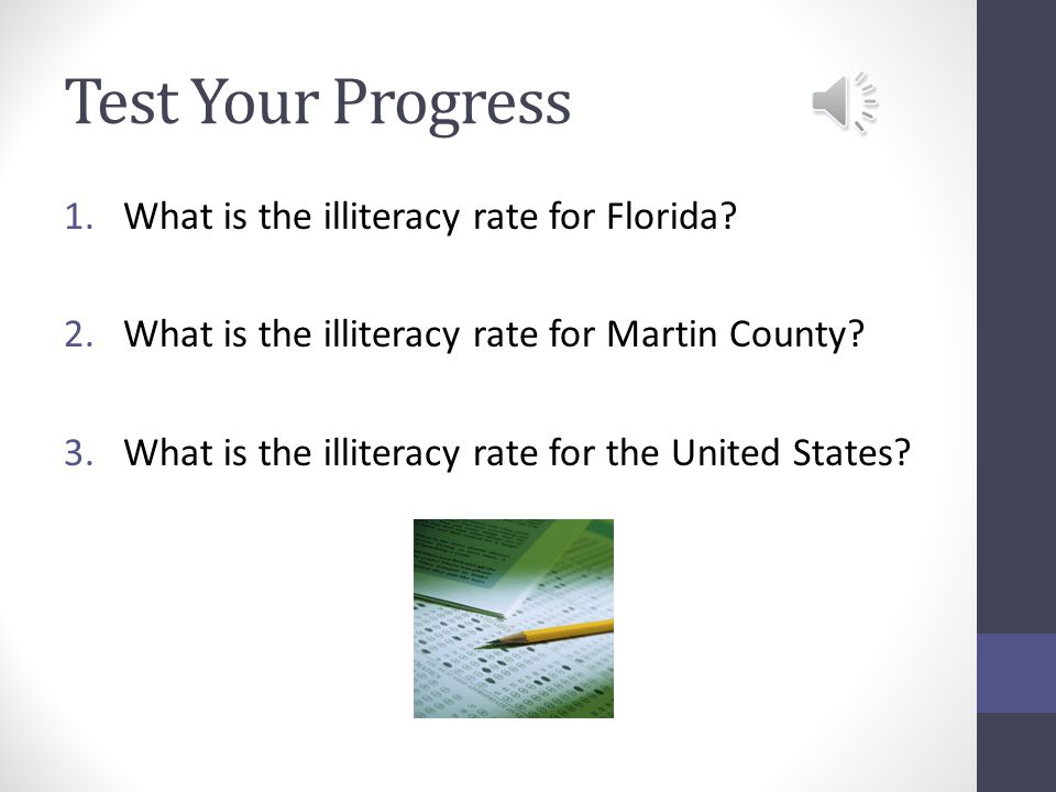 Adult Literacy Services  Martin County Jail GED prep & testing, literacy, ESL, career counseling & financial aid assistance  Work Place Literacy Sand Piper Cove - Resident volunteers teach staff reading, writing, & conversation  U.S.