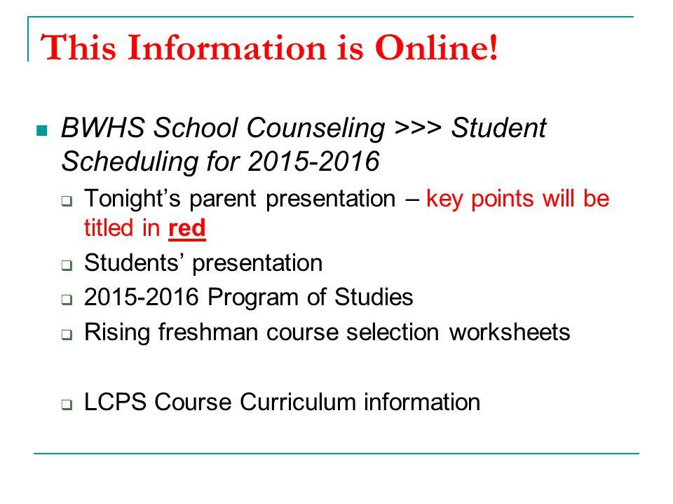 Presentation Agenda Rising 9 th Grade Scheduling Process Questions.