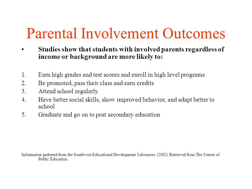 Parental Involvement: How Can Parents Contribute.