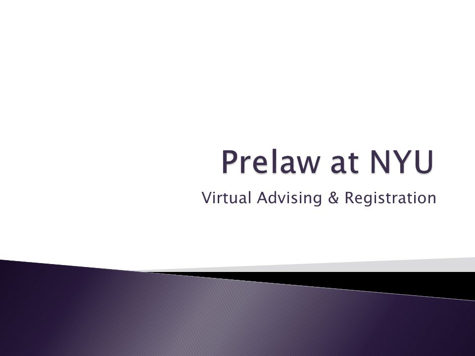 Virtual Advising & Registration
