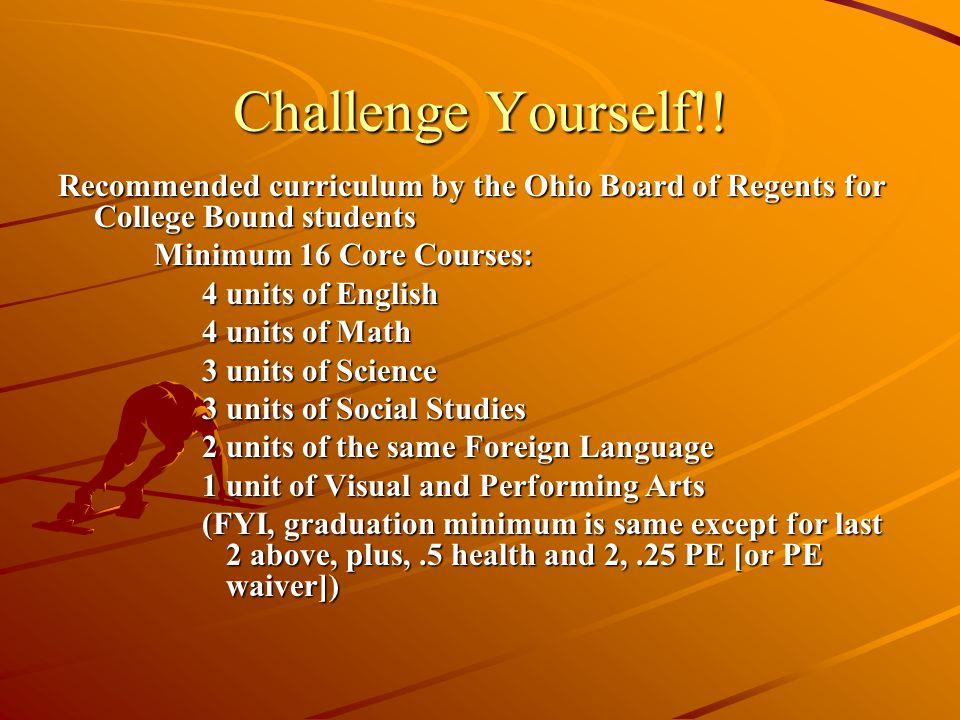 Challenge Yourself!.