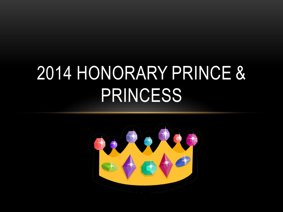 2014 HONORARY PRINCE & PRINCESS