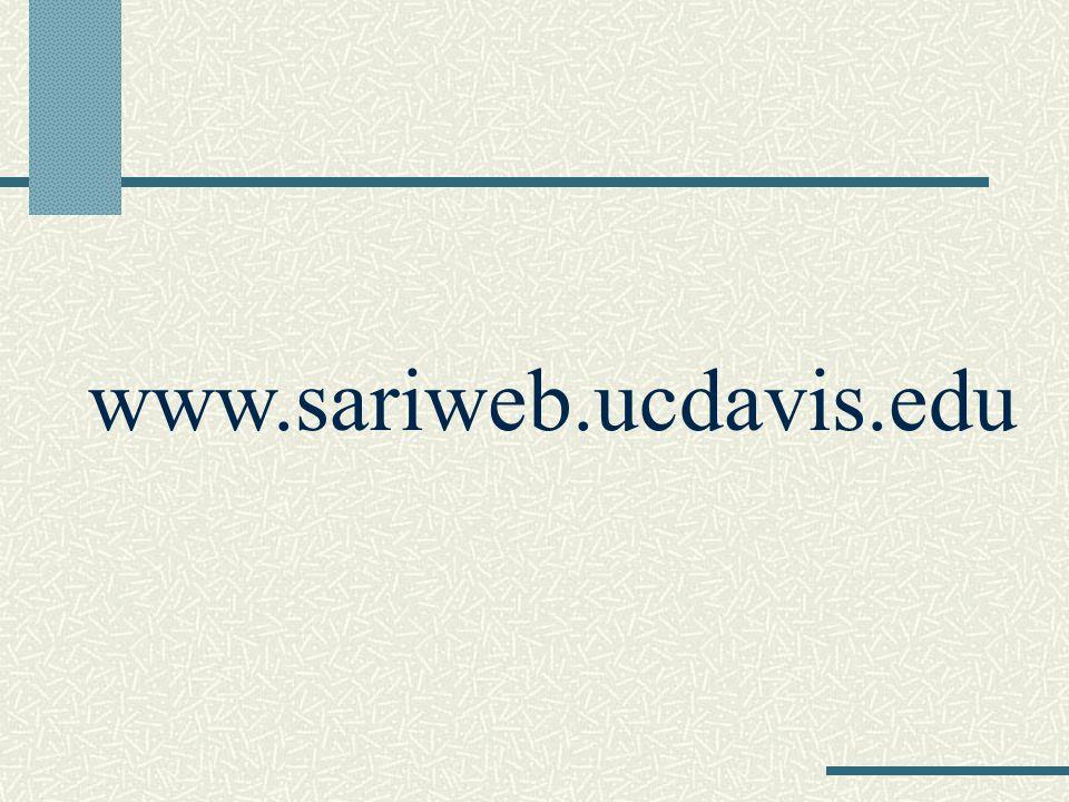 www.sariweb.ucdavis.edu