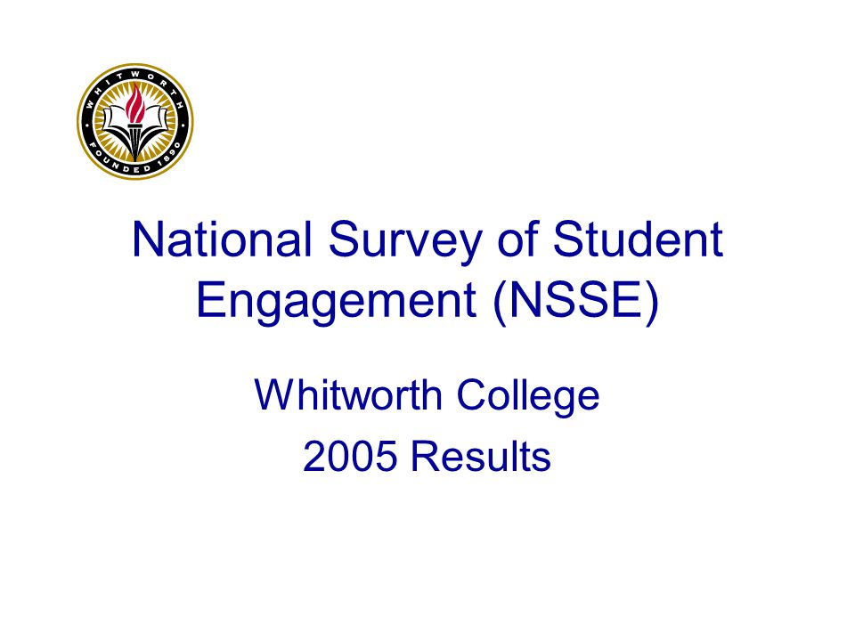 What Really Matters in College Student Engagement The research is unequivocal- Students are not passive recipients of institutional efforts to educate or change them.