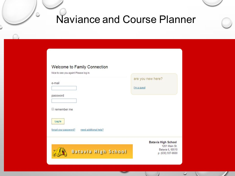 Naviance and Course Planner