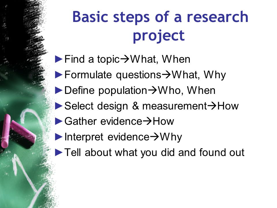 First things first 1.Basics 2.Topic ideas 3.Typical methodologies 4.Common pitfalls 5.Getting started and putting it all together 6.Questions/discussi