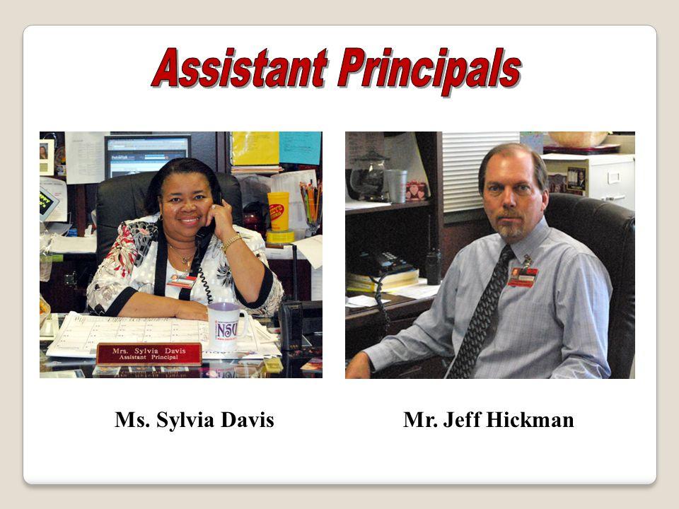 Mr. Jeff HickmanMs. Sylvia Davis