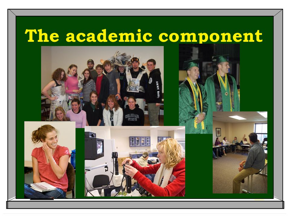 The academic component