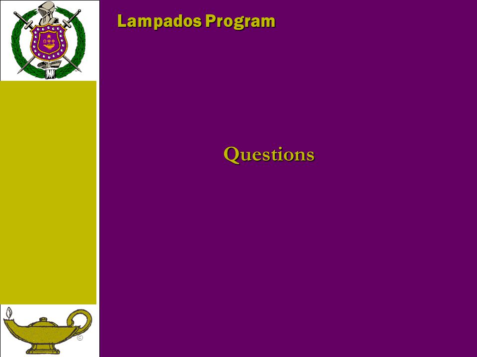 © Lampados Program Questions