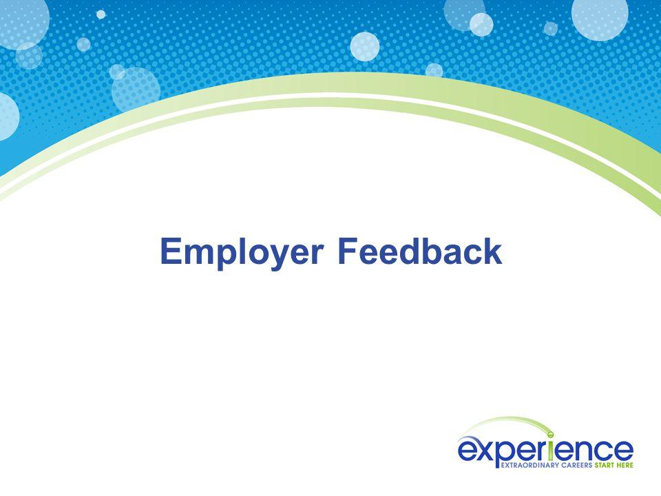 Employer Feedback