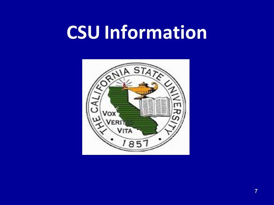 CSU Information 7