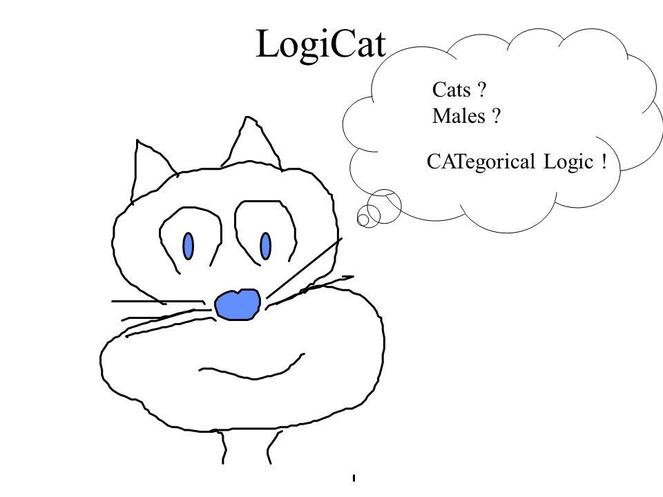 LogiCat Cats ? Males ? CATegorical Logic !