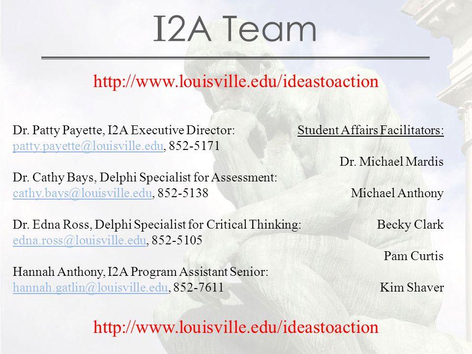I 2A Team Dr.