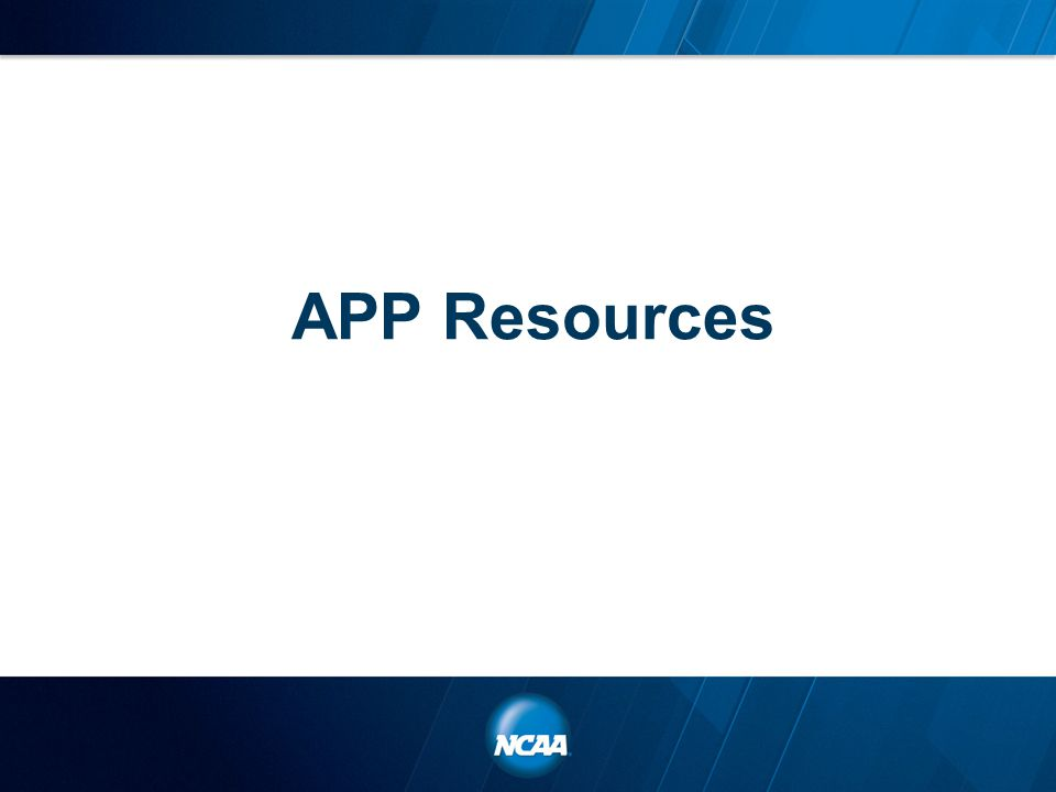 APP Resources