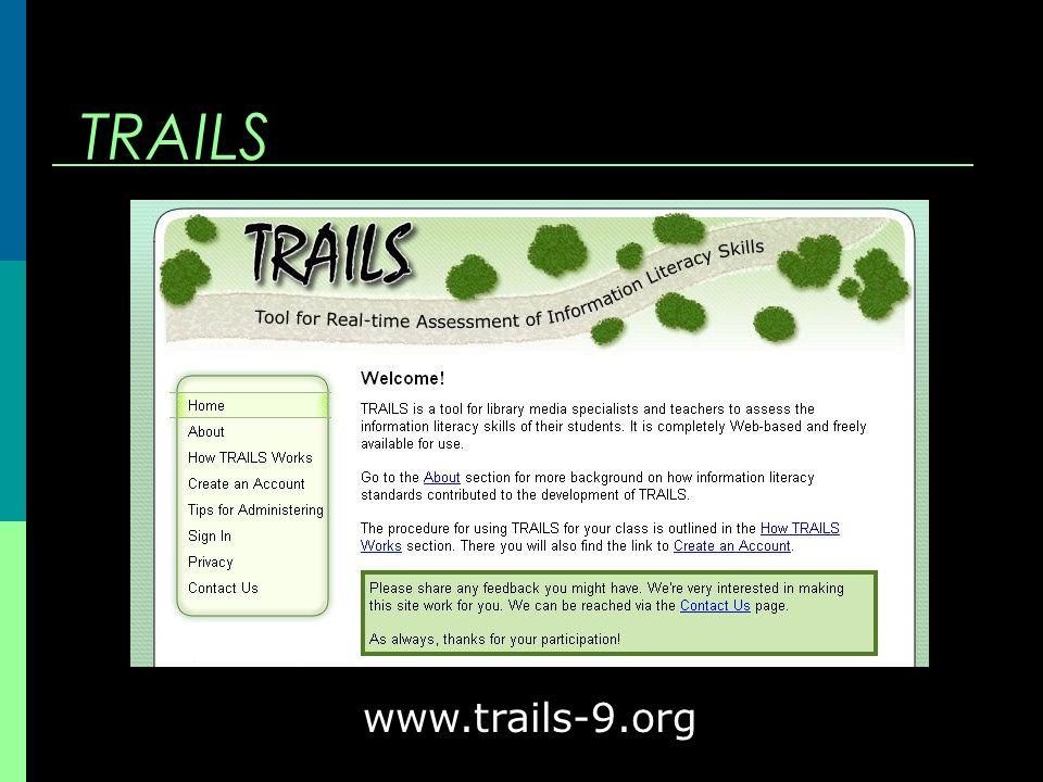 TRAILS www.trails-9.org