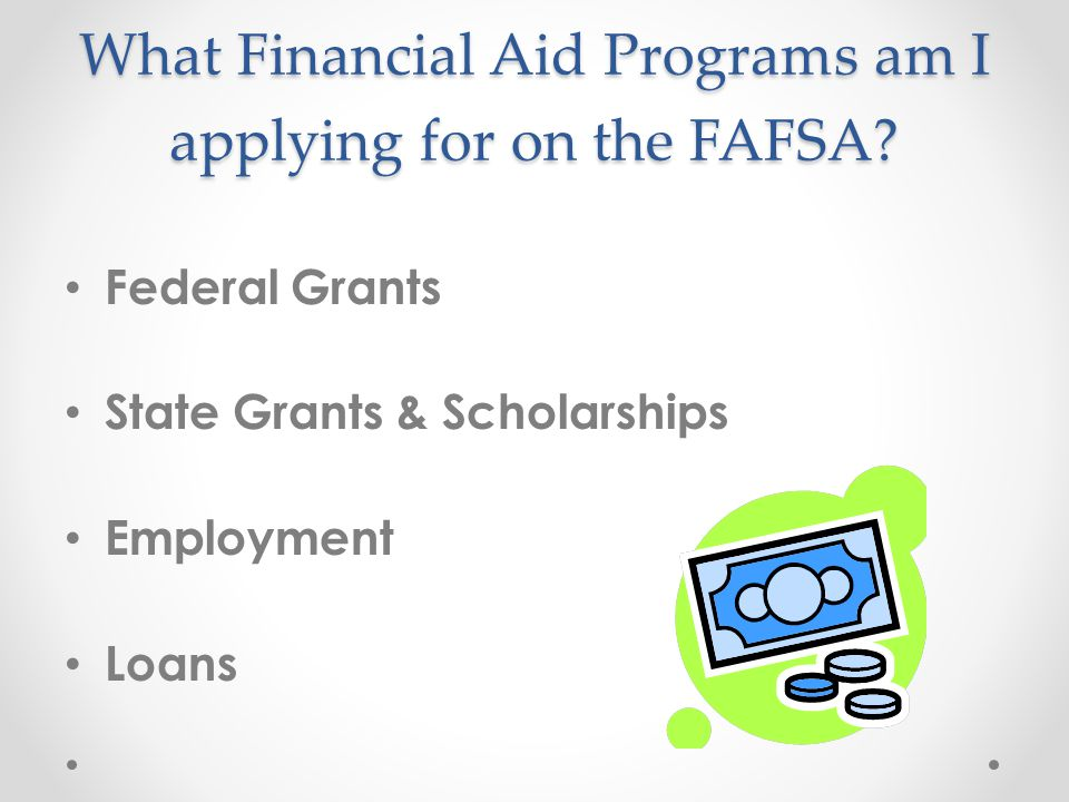 Financial Aid Q & A Presented by the Office of Financial Aid