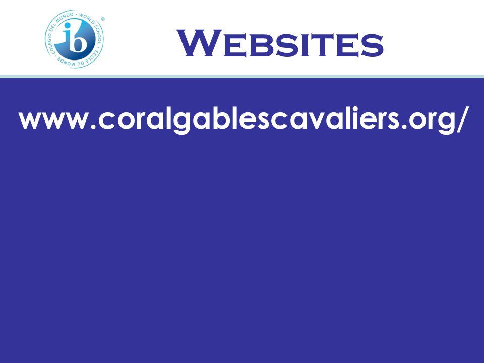 Websites www.coralgablescavaliers.org/