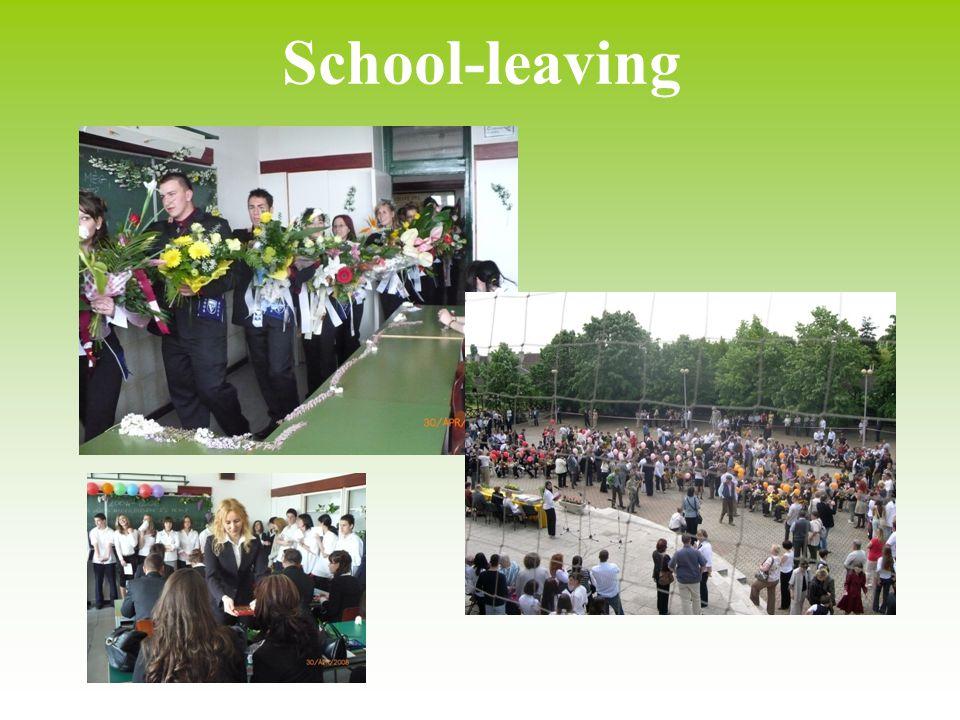 School-leaving