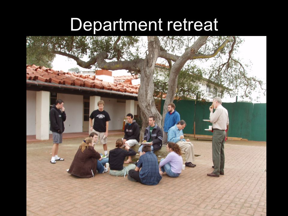 Department retreat