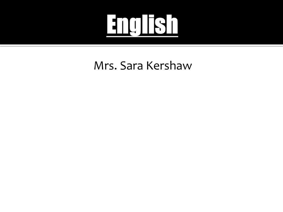 Mrs. Sara Kershaw