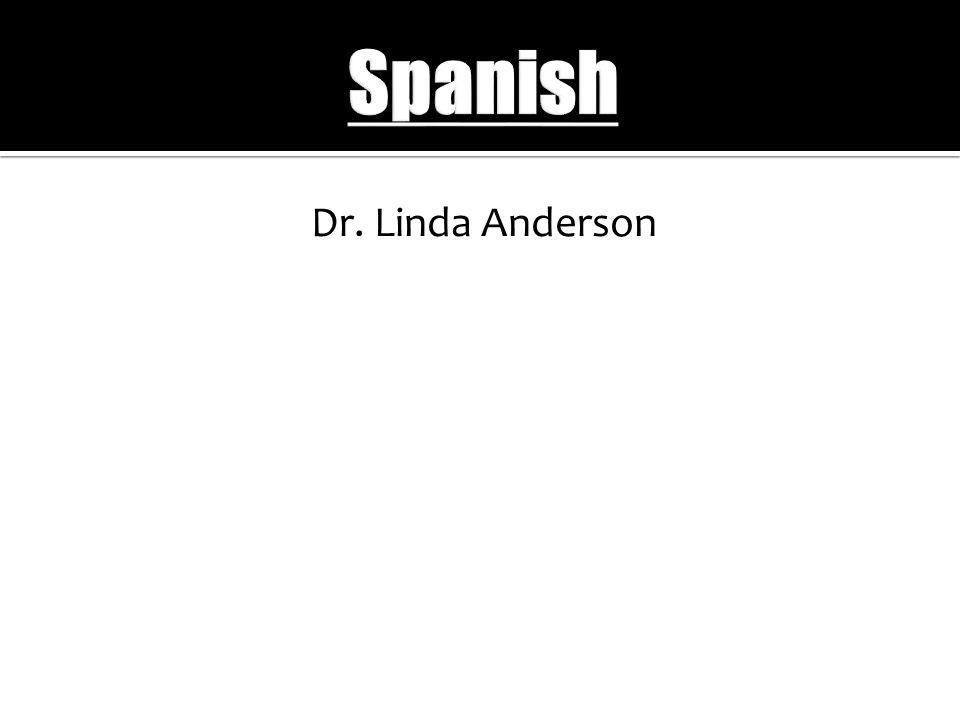 Dr. Linda Anderson