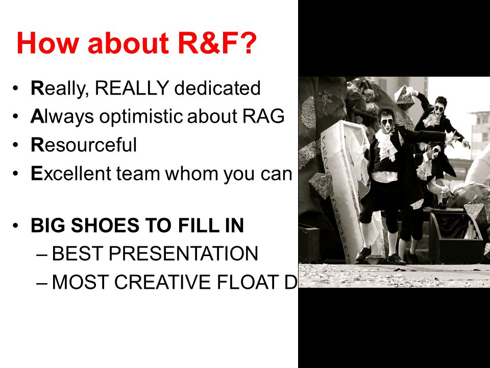 How about R&F.