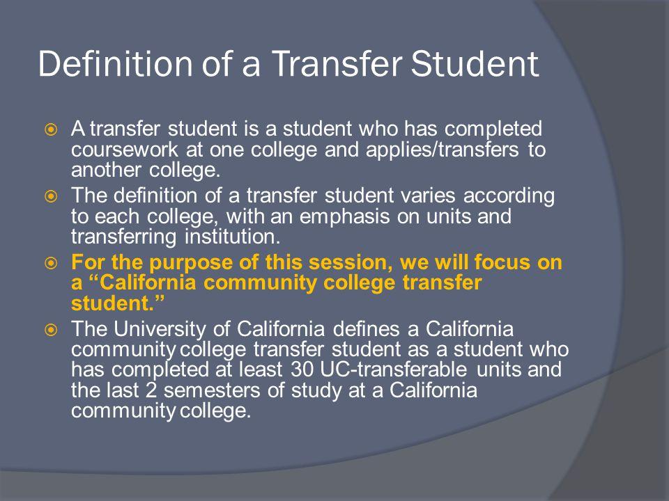 Transfer Quiz  ____% of University of California graduates start at a California community college.