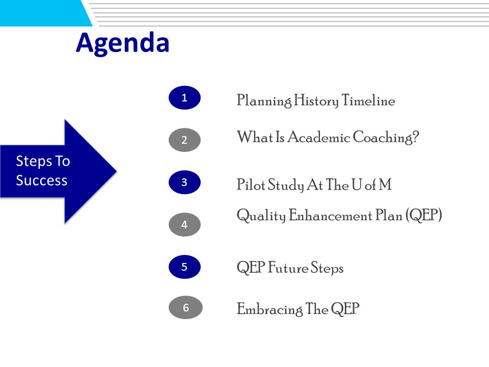 Quality Enhancement Plan