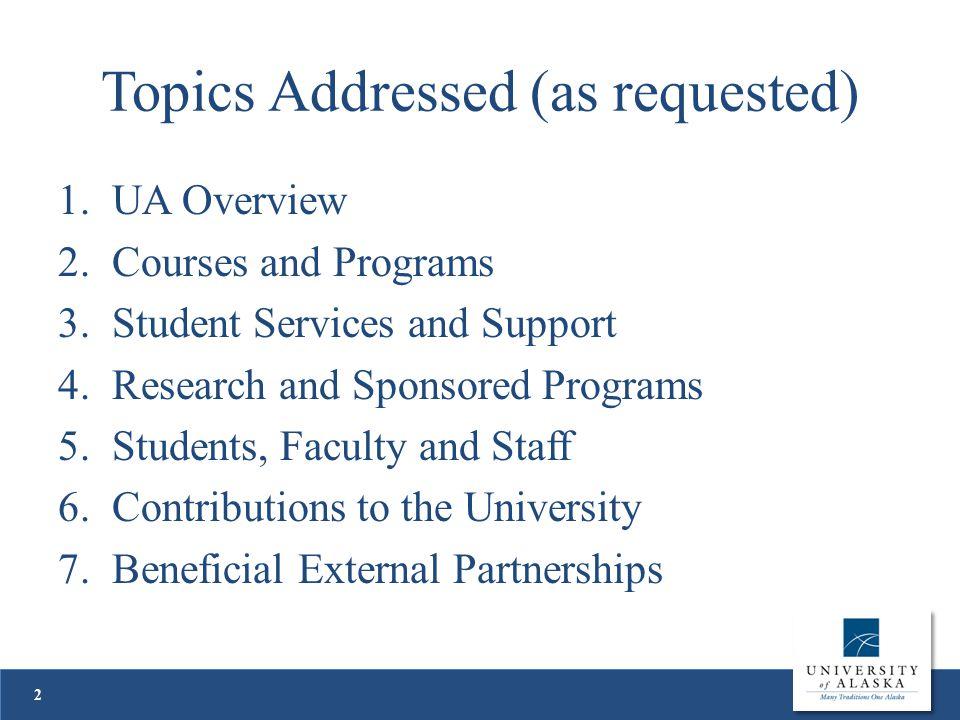 Academic Programs Broad Program Areas Alaska Native Studies Alaska Native Languages, e.g.