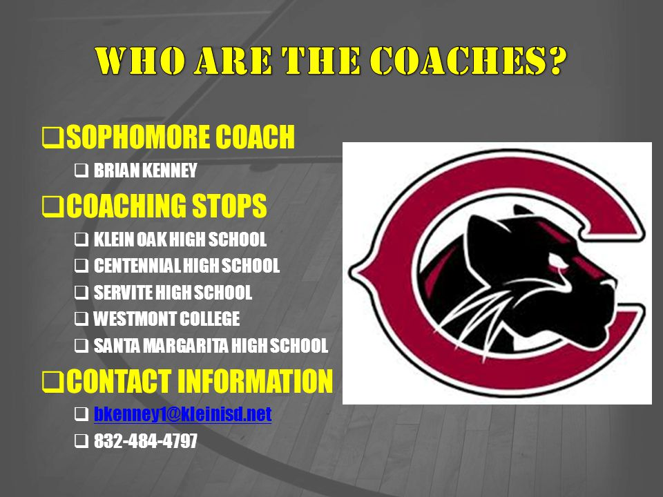  ALL PLAYERS WILL BE REQUIRED TO RIDE THE BUS HOME FROM AWAY GAMES.