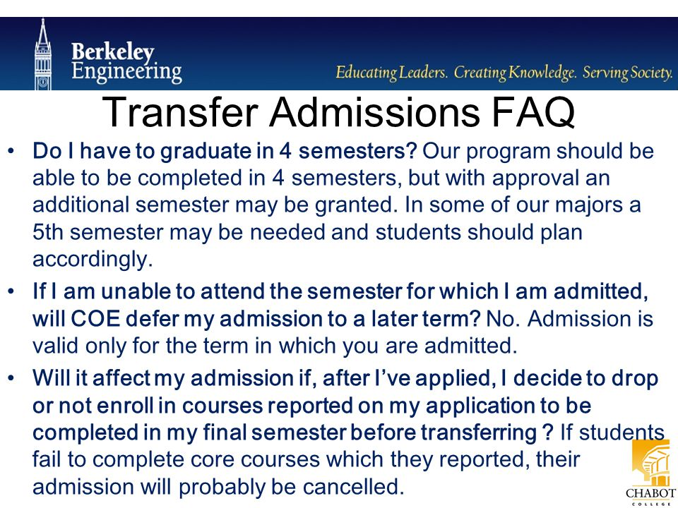 Do I have to graduate in 4 semesters? Our program should be able to be completed in 4 semesters, but with approval an additional semester may be grant