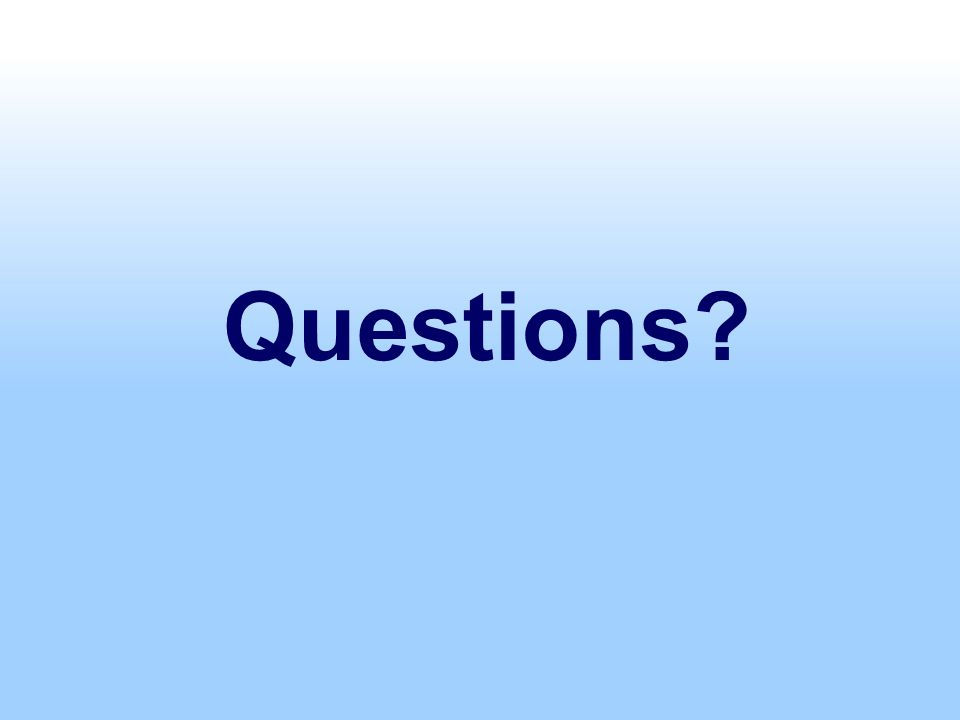 Questions? Federal Direct Loans
