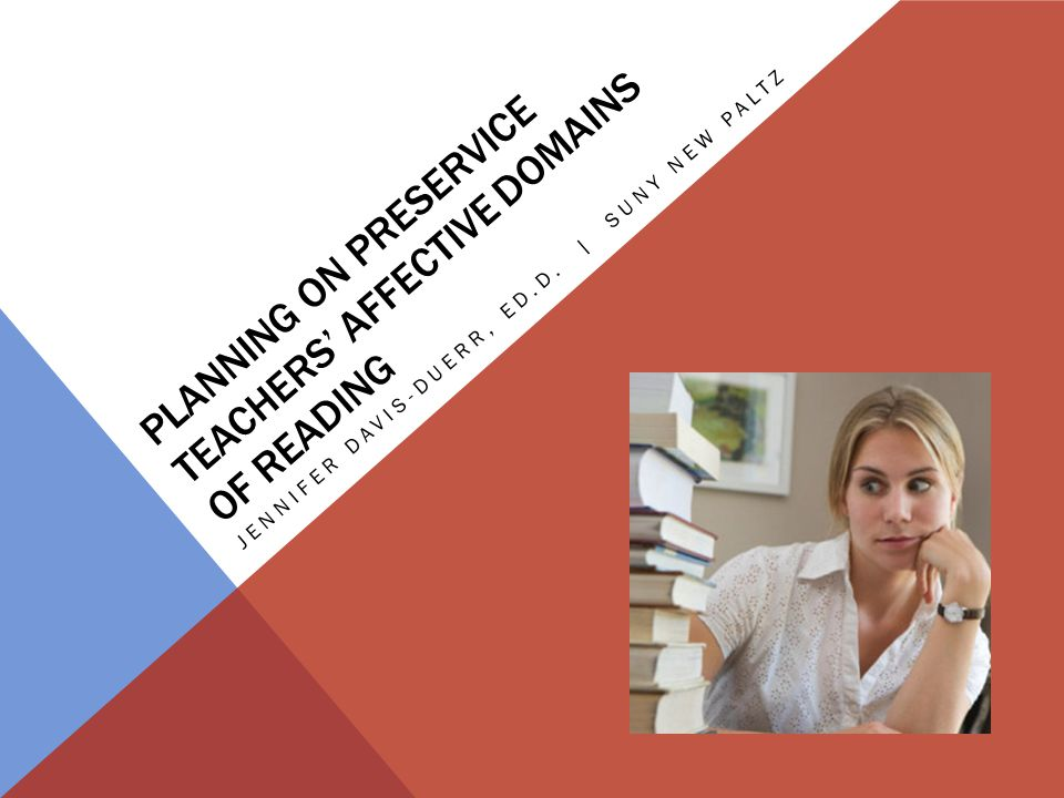 INFLUENCE ON INSTRUCTION Four Aspects of Courses Influenced by Instructors Understanding Their Students' Affective Domains