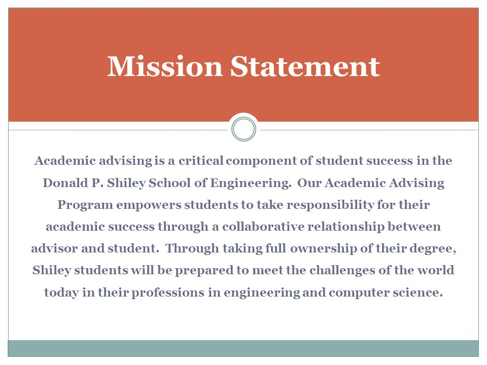 Academic advising is a critical component of student success in the Donald P. Shiley School of Engineering. Our Academic Advising Program empowers stu