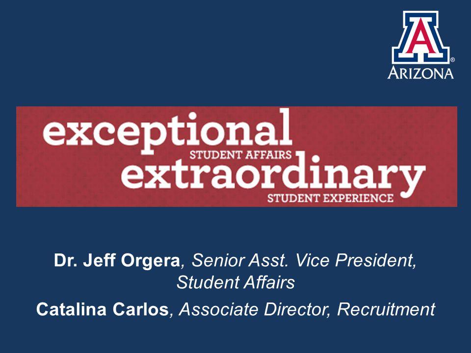 Dr. Jeff Orgera, Senior Asst.