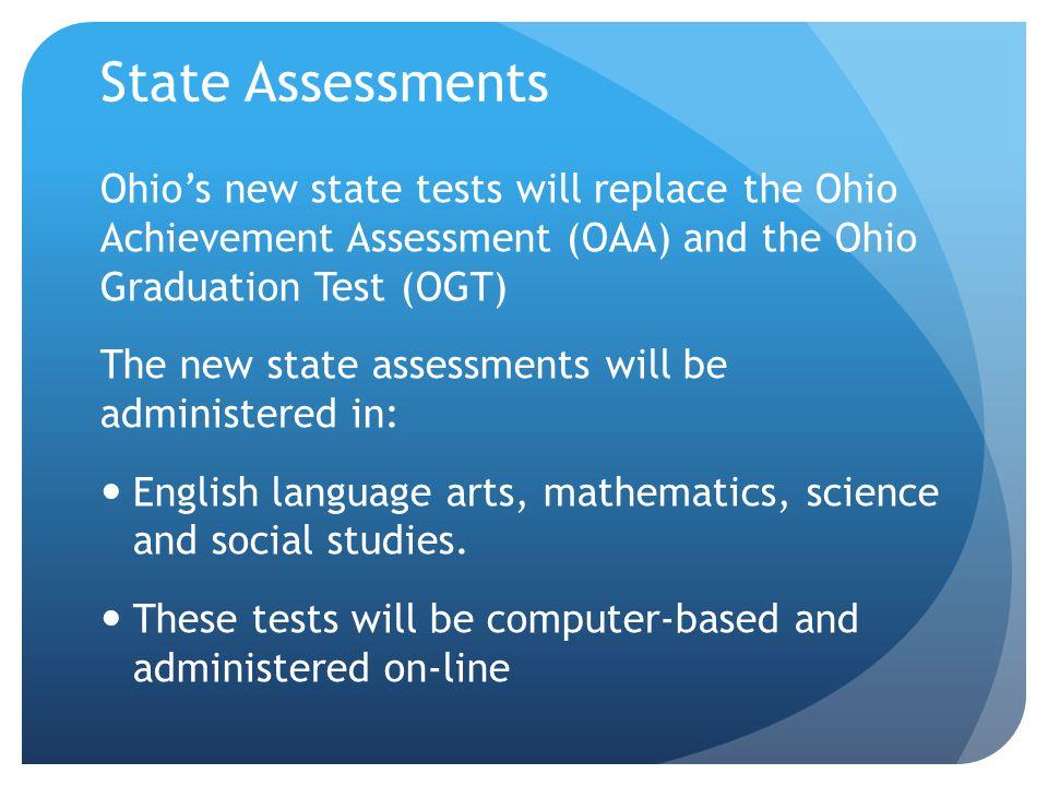 New Assessments K-12 Kindergarten Readiness Assessment (KRA) English Language Arts Assessments (4-9 th ) Math (3 rd -9 th ) Social Studies (Grades 4, 6 and 10 th U.S.