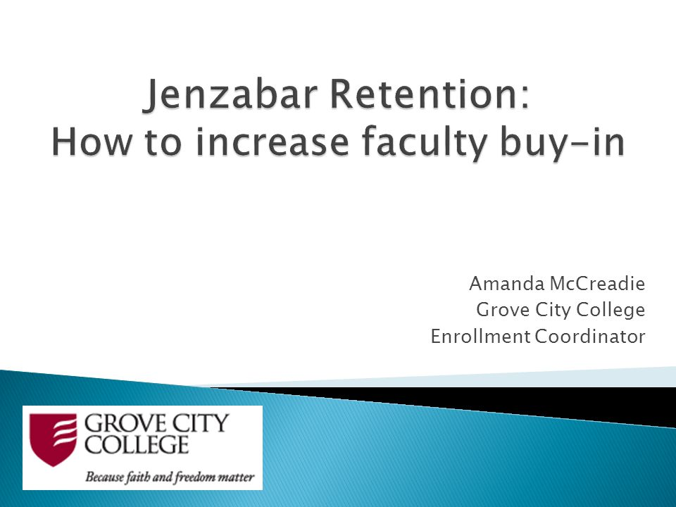 Amanda McCreadie Grove City College Enrollment Coordinator