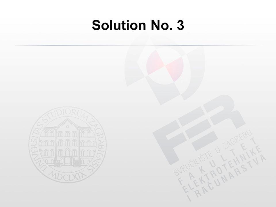 Solution No. 3