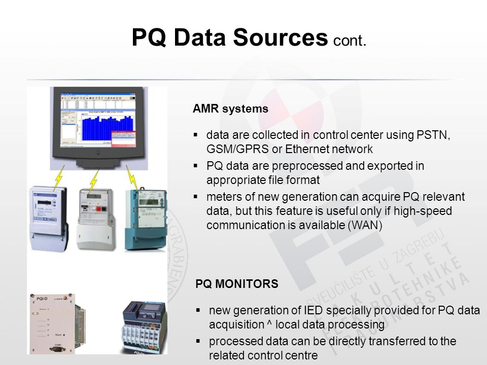 PQ Data Sources cont. «.