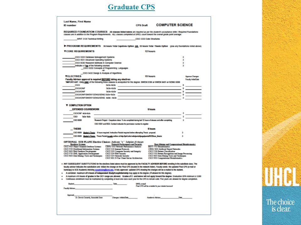 Graduate CPS