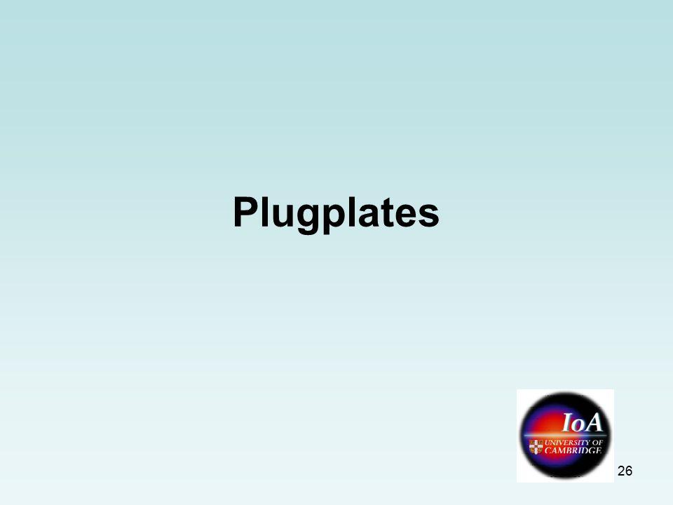 26 Plugplates