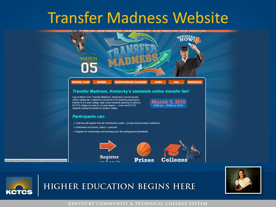 Transfer Madness Website www.Transfermadness.org