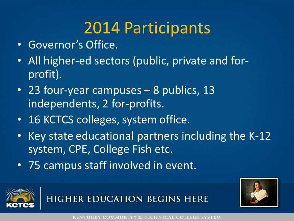 Kick-Off Event with Governor Press Conference at capitol building.