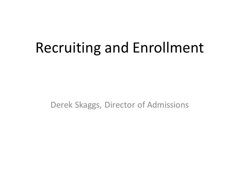 Spring 2010 Enrollment