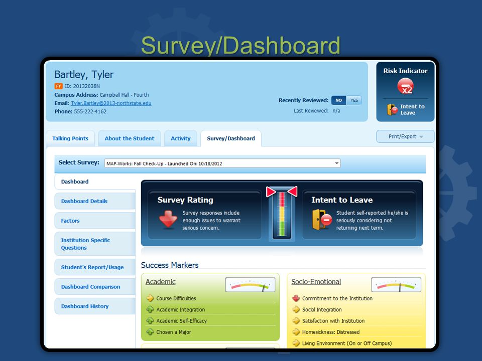 Survey/Dashboard